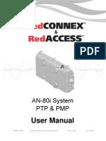 Redline an-80i User Manual