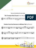 Composing Fanfares