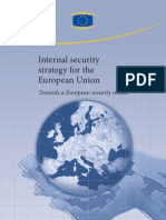 Internal security strategy for the European Union