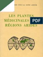 Les plantes médicinales des régions arides_Unesco 1960 97 p.