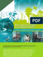 UNESCO de Economias Verdes a Sociedades Verdes