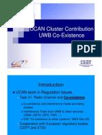Cluster Ucanregulation