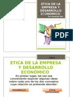 Etica de La Empresa y Desarroollo Economico