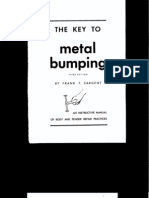 The Key to Metal Bumping (Panel Beating, Auto Body Repair Bible)