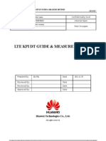 Lte Kpi Dt Guide & Measure Method.