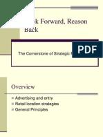 Look Forward Reason Back