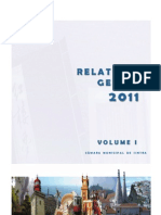 Relatório de Gestão de 2011 da Câmara de Sintra