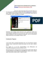 Tutorial para instalação do Guitar Pro 6 no Windows XP e no Windows 7