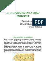 Extremadura en La Edad Moderna