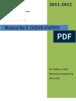 Module No 5a.ocean Energy