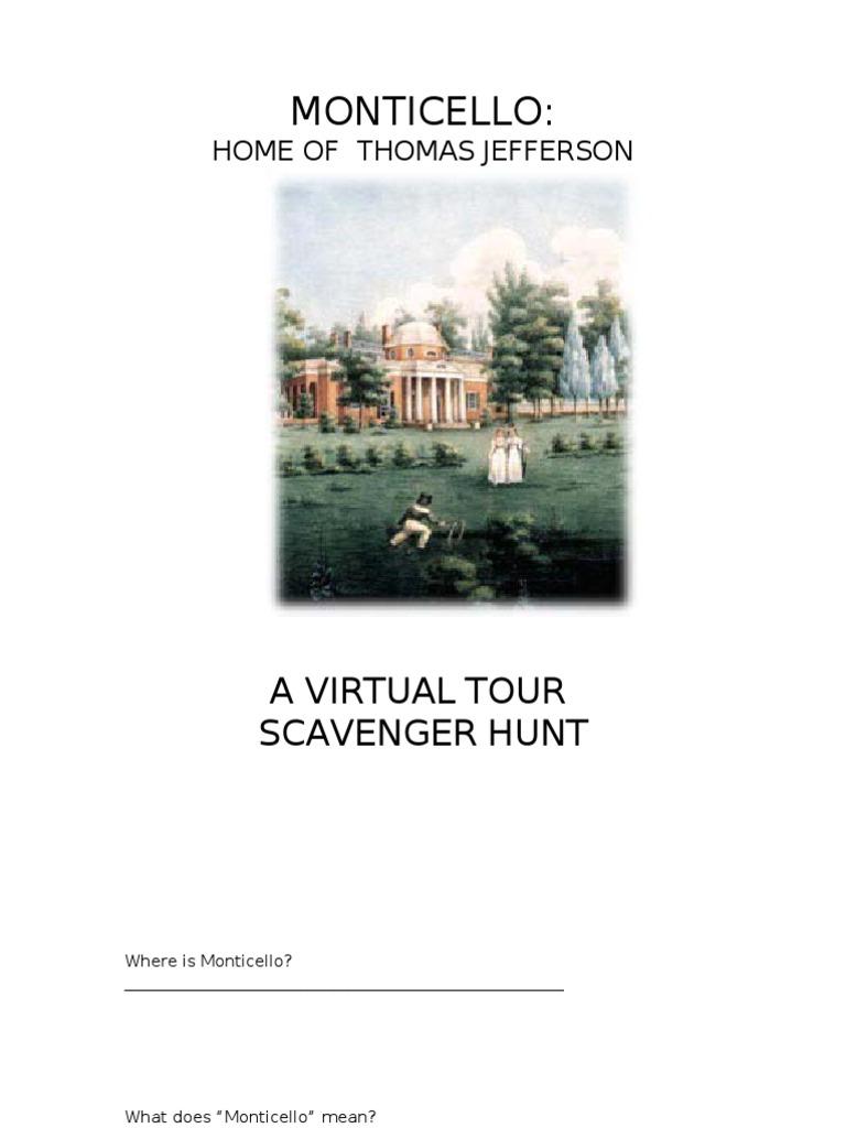 Monticello Virtual Tour | Monticello | Thomas Jefferson