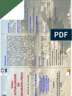 Triptico Curso Geografia Fisica 25-27 Junio 2012