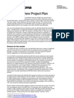 900 Mhz Review Project Plan