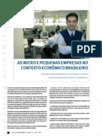 Micro e Pequenas Empresas No Setor Economico Brasileiro -Koteski