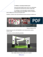 Inbox-Modular System for exhibitions