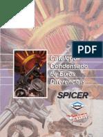 SPICER CATÁLOGO DIFERENCIAL BRASEIXOS 2000