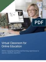 WizIQ Virtual Classroom Solution Mar2012