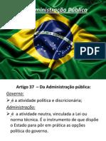 Da Administração Pública1