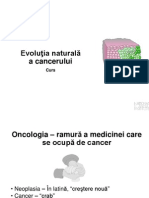 VIzvrCurs 1 - Evolutia Naturala, Carcinogeneza