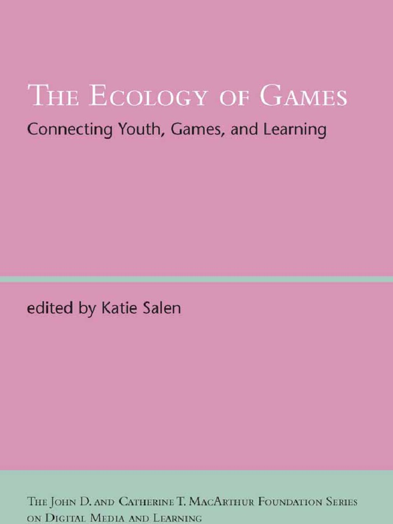 the ecology of games mass media video games