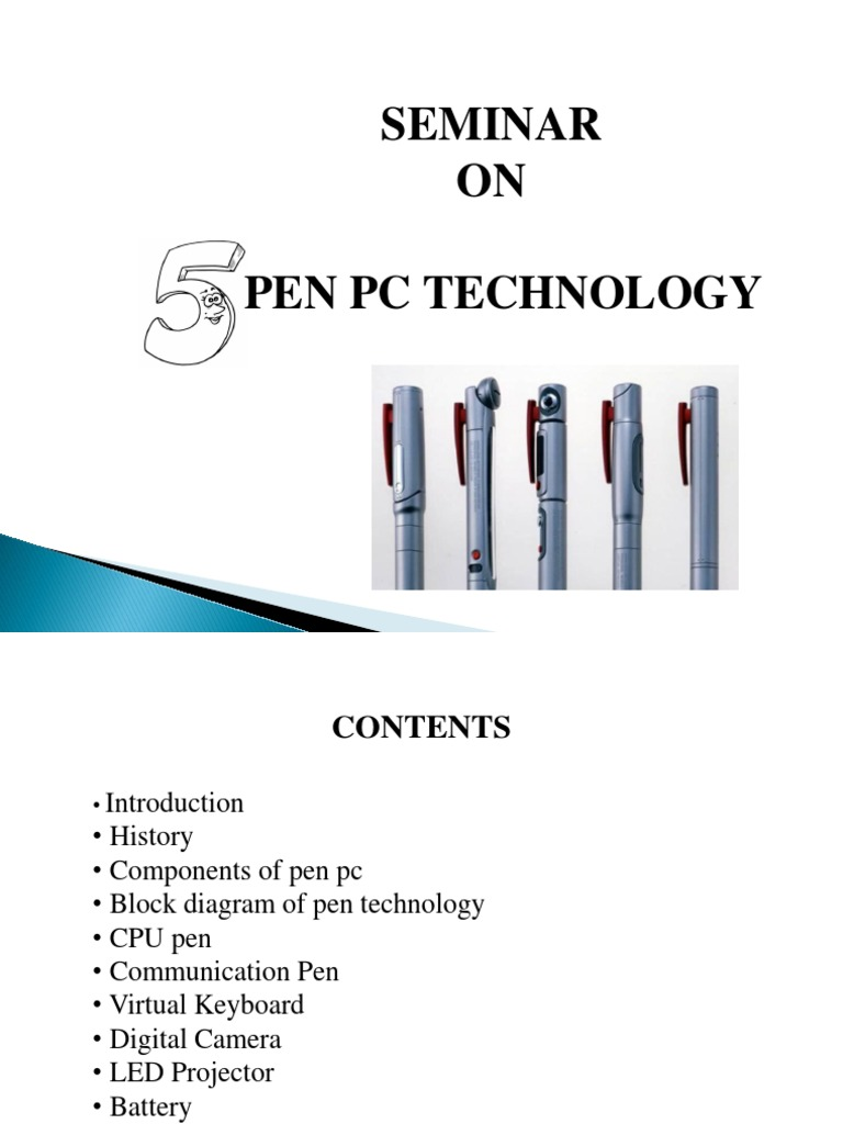 5 Pen PC Technology | Personal Computers | Computer KeyboardScribd