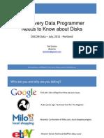 Dziuba OSCON 2011 Data Fsync File Io