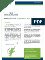 Profile of Highland and Islands, Scotland