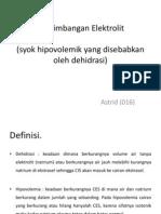 Keseimbangan Elektrolit