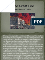 Chicago Fire Lecture Presentation