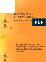 Klasifikasi Dan Struktur Protein