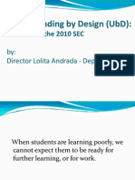 Understanding by Design Dr Andrada