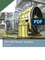 Siemens Industrial Steam Turbine SST 400 Brochure