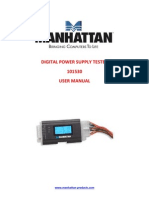 Power Supply Tester Manual