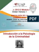 Introducción a la Psicología de la Criminalidad