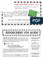 Ridgecrest Scrip Flyer 5-12
