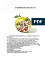 Alimente Modificate Genetic