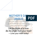 Mother's Day Jingle Ad...