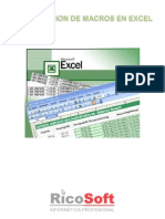 Curso de Programaci n de Macros en Excel