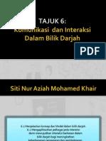 EDM Tajuk 6 Komunikasi Dalam Bilik Darjah