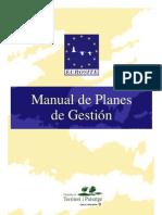 Manual de planes de gestión de espacios naturales