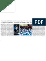 La musica di Marco Mengoni incanta le fans del capoluogo