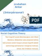 6. Model Perubahan Perilaku Antar Individu Interpersonal)