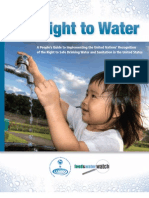 Our Right to Water