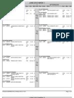 Full Timetable Report (June 2012)