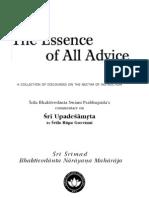 Essence of All Advice 4ed