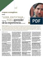 Entrevista a Miguel Aranguren