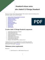 Creative Suite 5.5 Design Standard Read Me