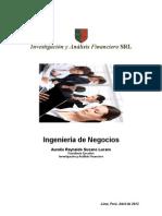 Ingenieria de Negocios 2012 Lgb