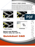 ShopData Quickduct CAD 2009