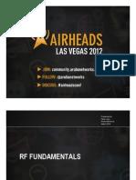 2012 AH Vegas - RF Fundamentals